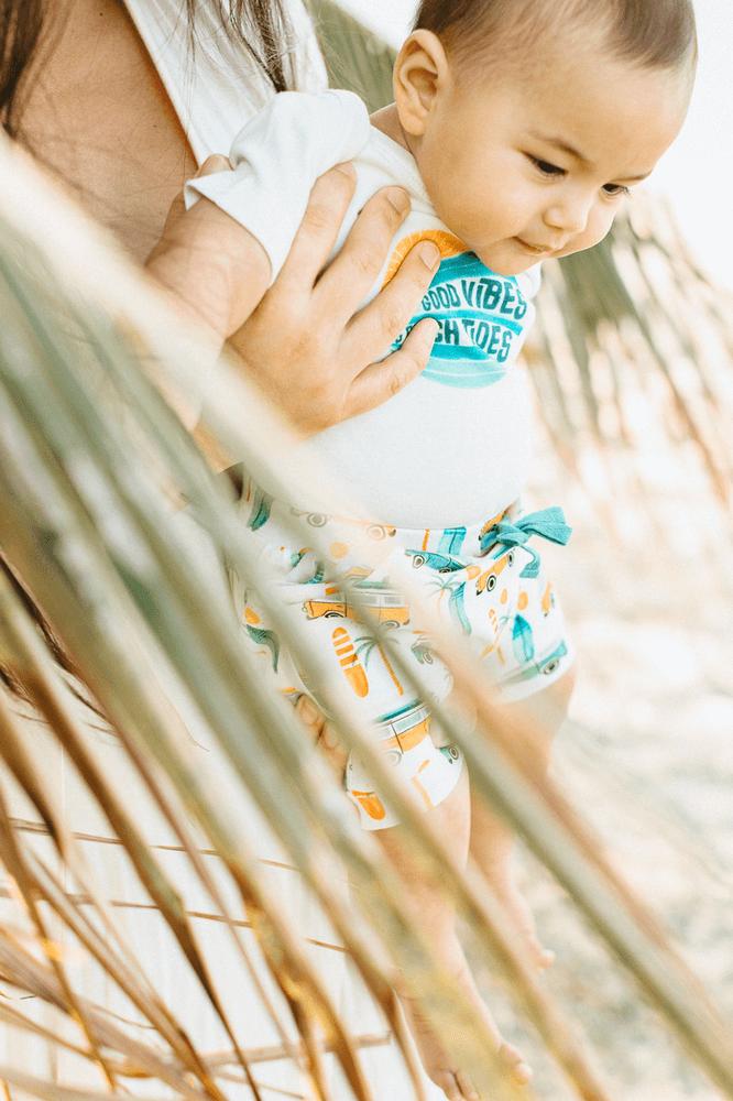 Baby models Hawaii Photoshoot
