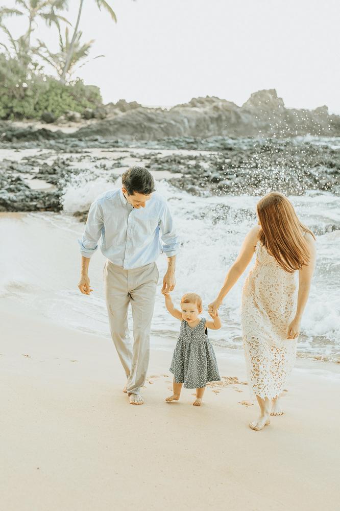 Wailea Beach Family Photographer