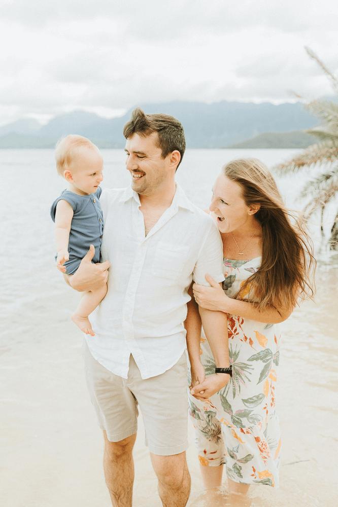 Kualoa Beach Family Photographer