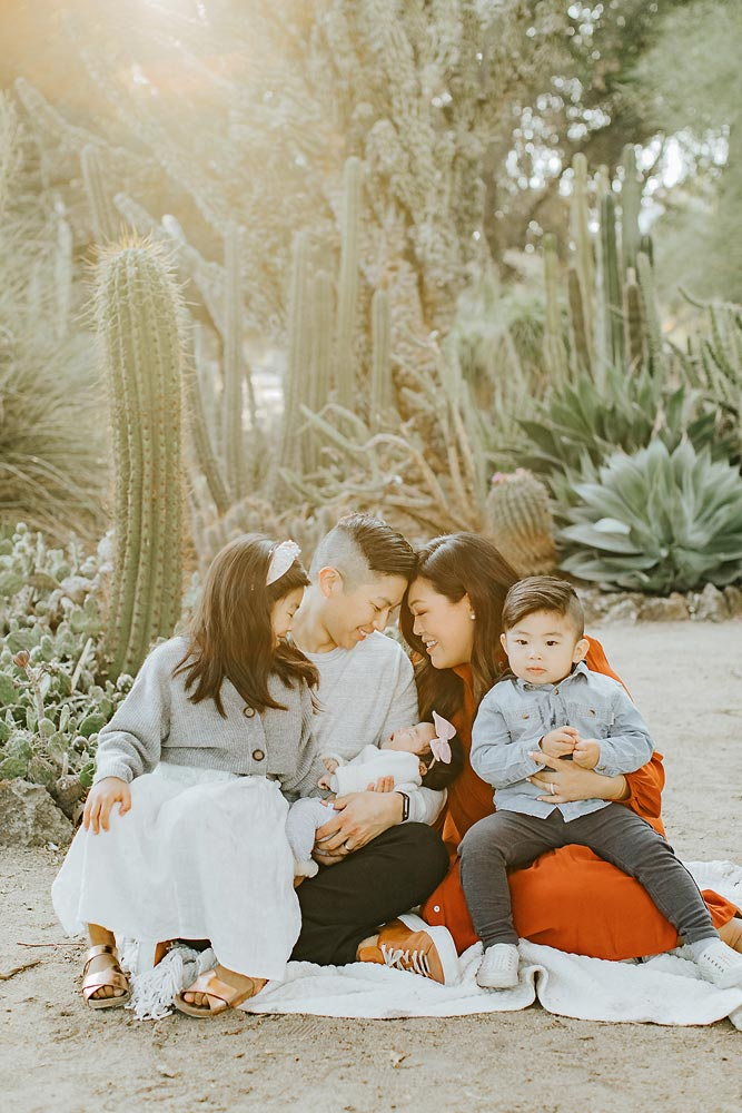 cupertino family photo session