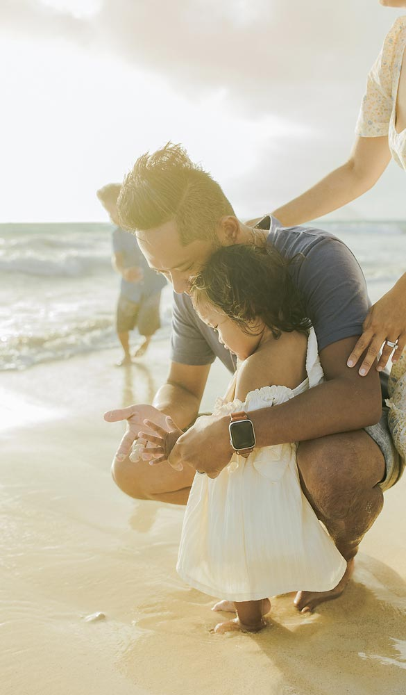 family beach photography honolulu