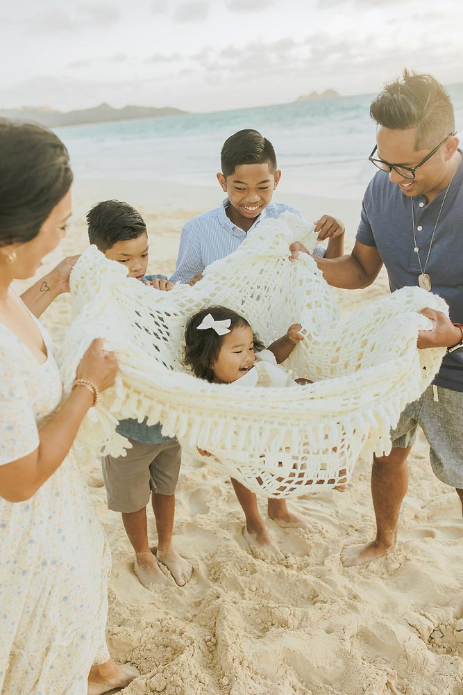 family photo session honolulu