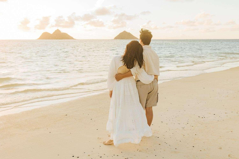 family photographer lanikai beach oahu vacation