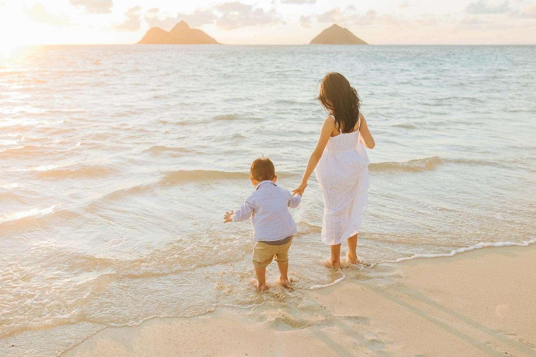 lanikai beach oahu family pictures